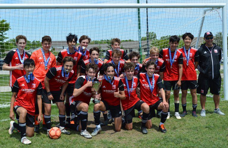 U16 Boys White - 2021 Presidents Cup Champions