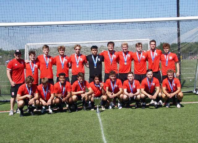 U19 Boys Red - 2021 State Cup Champions